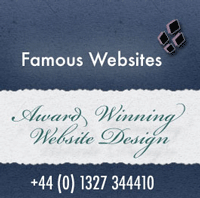 Famous Websites®, web designers, Cardiff, Daventry, Brackley, Rugby, Northampton, Milton Keynes